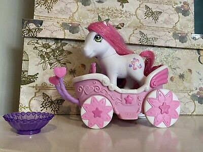 My Little Pony Cute Curtesy Carriage And Bowl • 8.50£