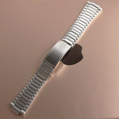 11 / 21mm Solid Bracelet Strap For Omega Seamaster Watch Stainless Steel Strap • 35£