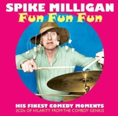 Spike Milligan Milligan Preserved/Bridge On The River Wye 2-CD NEW SEALED Comedy • 4.99£