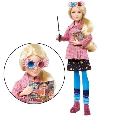 Luna Lovegood Doll With Glasses And Quibbler Harry Potter Collectable Doll New • 54.75£