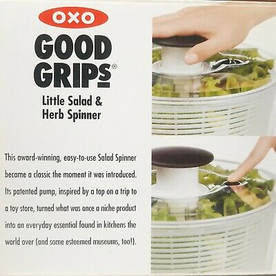 £11.33 • Buy OXO Good Grips® Small Salad Spinner