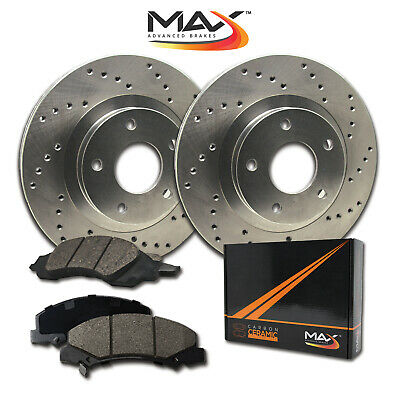 $ CDN120.66 • Buy 13 VW Beetle W/288mm Front Rotor Dia Cross Drilled Rotors W/Ceramic Pads F