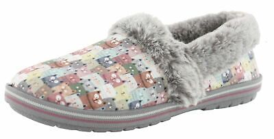 Skechers Women's Bobs Too Cozy- Cuddled Up Pink Slippers Size 11 • 20.74£