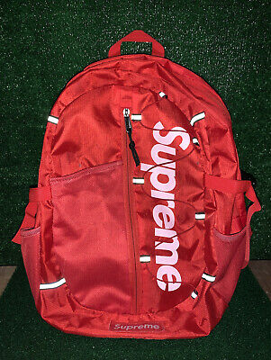 $ CDN208.84 • Buy Supreme SS17 Relective Backpack Red Box Logo RARE! Great Condition