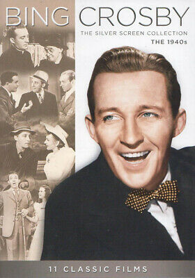 £21.54 • Buy Bing Crosby - The Silver Screen Collection (the 1940s) (11 Classic Films) (dvd)