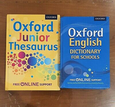 £15 • Buy Oxford Junior Dictionary And Thesaurus Immaculate Condition