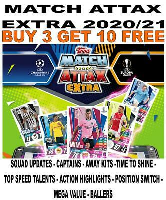 £1.50 • Buy MATCH ATTAX EXTRA 2020/21 20/21 - BASE CARDS Inc UPDATE/ CAPTAIN/ BALLERS Etc