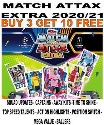 £0.99 • Buy MATCH ATTAX EXTRA 2020/21 20/21 - BASE CARDS Inc UPDATE/ CAPTAIN/ BALLERS Etc