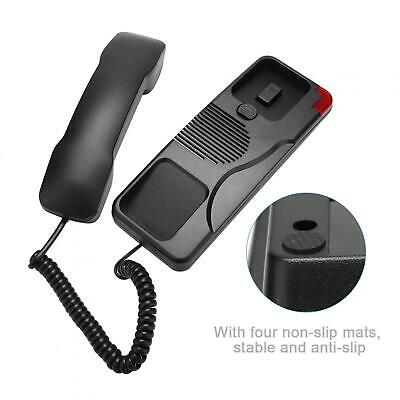 Basic Wall Phone W598 Wall Mount Telephones Landline With Caller ID For • 14.33£