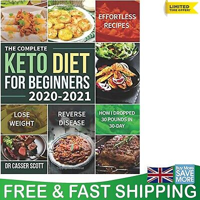 $10.32 • Buy Keto Diet Book For Beginners Quick Healthy Ketogenic Recipes 2020-2021 Cookbook