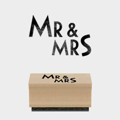 £3.50 • Buy East Of India Rubber Stamp - Mr And Mrs