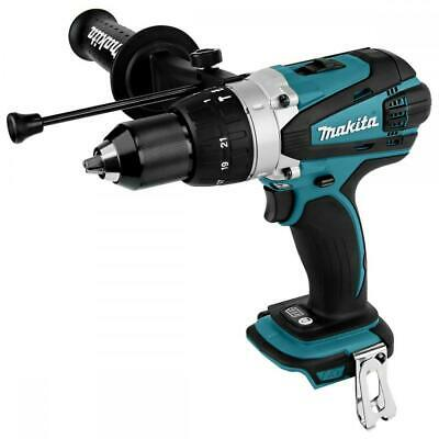 Makita Dhp458 Lxt 18v Combi Body 13mm Chuck Brand New Dhp458z • 90.99£