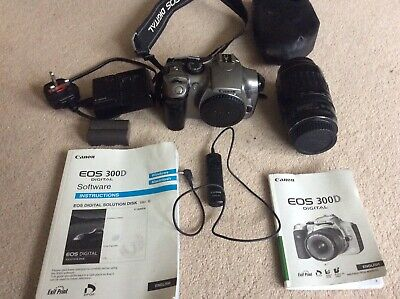 £59.99 • Buy Canon EOS 300 35mm SLR Film Camera (100-300mm Lens) With Remote Switch