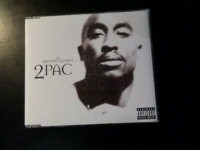 Cd Single - 2 Pac - Ghetto Gospel • 1£