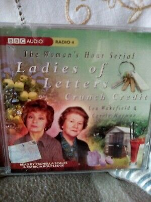 Ladies Of Letters Cd. Credit Crunch Read By Prunella Scales & Patricia Routledge • 9.25£