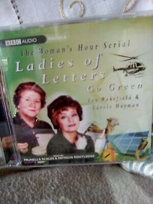 Ladies Of Letters Cd. Go Green Read By Prunella Scales & Patricia Routledge. • 5.25£