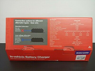 AU469 • Buy Redarc BCDC1225D In-Vehicle Battery Charger