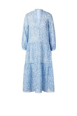 AU255 • Buy Scanlan And Theodore Blue Florence Dress- Size 8