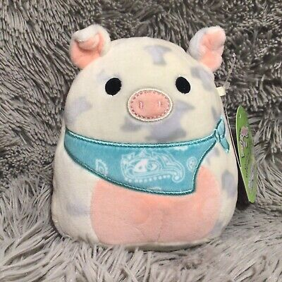 $ CDN10 • Buy NEW Squishmallow 5  Rosie The Pig Easter Walmart Exclusive NWT Bandana