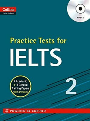 IELTS Practice Tests Volume 2: With Answers And Audio (Co... By HarperCollins UK • 8.99£