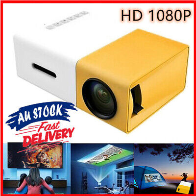 AU69.28 • Buy Mini Pocket LED Home Cinema Projector HD 1080P Bluetooth Cinema HDMI USB 2021 AU