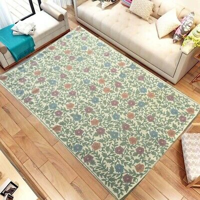 792 Vintage Aubusson Rug Handwoven Floral Needle Point Home Decoration Rug 6x4 • 150£