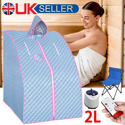 £66.98 • Buy Portable 2L Steam Sauna Spa Room Home Room Full Body Slimming Detox Therapy Tent