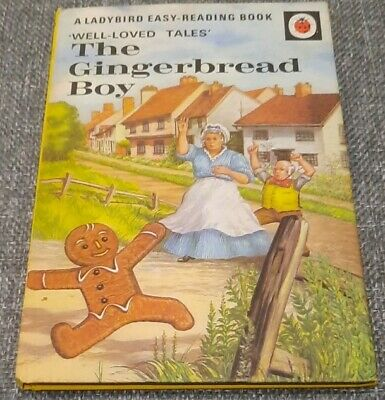Early Ladybird Book The Gingerbread Boy 606D Well Loved Tales 15p  • 2.99£