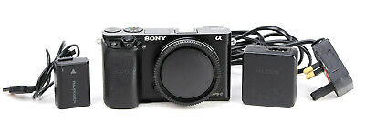 AU487.57 • Buy Sony A6000 DSLR Camera Body Only + Battery  & Charger - 11,133 Shots - VGC