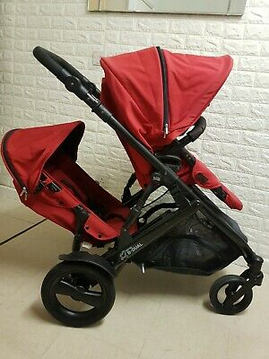 Britax B-Dual Double/Single Pushchair With Rain Cover EXCELLENT CONDITION  • 80£