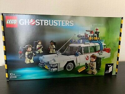 Rare Retired New Sealed Lego Ghostbusters Set Ecto 1 Mini Figures 21108 • 59.99£