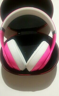 Beats By Dre Studio 2.0 Pink Headphones Limited Edition With Carry Case • 35£