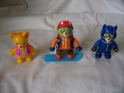 £9.99 • Buy Vintage Disney Special Agent Figures Oso Dottie And Wolfie Figures & Skateboard