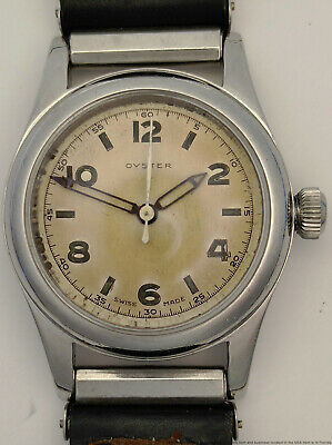 AU839.58 • Buy Scarce Oyster Rolex 2784 Tropical Dial Sweep Seconds Mens Vintage Watch