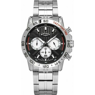 Rotary GB00051-04 Mens Exclusive Watch RRP £399 Watch. Brand New And Boxed • 37£
