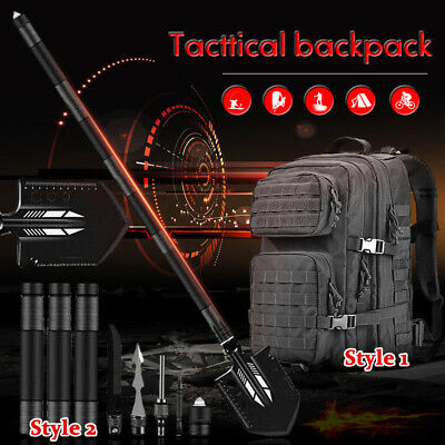 $41.99 • Buy Military Folding Shovel Survival Tactical Backpack Outdoor Camping Hunting Tool