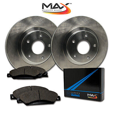 $ CDN96.86 • Buy 14 VW Beetle W/288mm Front Rotor Dia OE Replacement Rotors W/Metallic Pads F