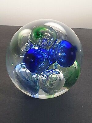 Langham Glass Paperweight Large Coloured Bubbles  • 0.99£