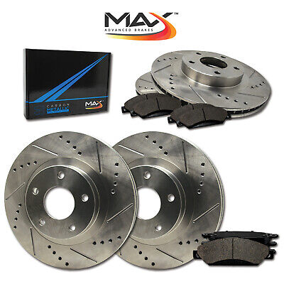 $ CDN184.19 • Buy 2014 2015 Volkswagen Beetle (See Desc) Slotted Drilled Rotor W/Metallic Pads F+R