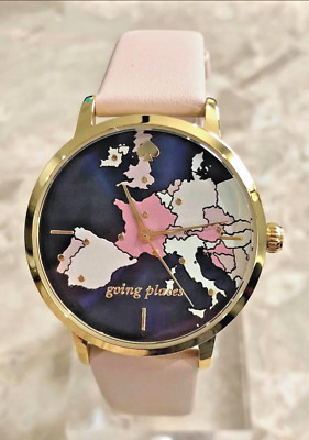 $ CDN93.98 • Buy Kate Spade Metro European Map Watch KSW9039