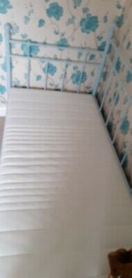 Daybed, Metal Frame, Single, Powder Blue, Ikea Day Bed, Excellent Condition • 55£