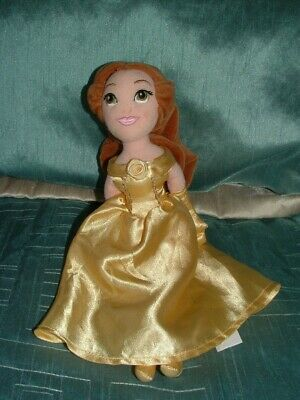 Disney Store Princess Beauty And The Beast Mini 11  Belle Plush Soft Doll Toy • 6.99£