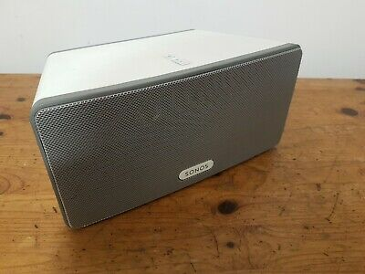 AU216.39 • Buy Sonos Play 3 Wireless Speaker - White
