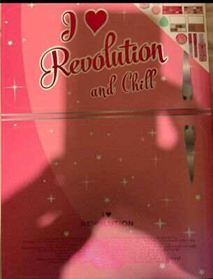 Revolution I Heart And Chill Makeup Cosmetic Gift Set  New And Sealed • 30.99£