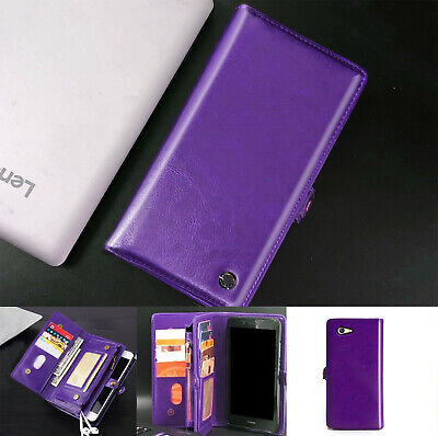 AU17.90 • Buy Oppo A59 / F1s Leather Case Multi Card Pocket Zip