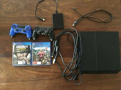 AU200 • Buy Sony 500gb PS4 Console, With 2 Controllers, Games And 1TB Extended Storage