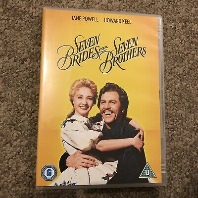 £2.09 • Buy Seven Brides For Seven Brothers [DVD] [1954] Jane Powell, Howard Keel