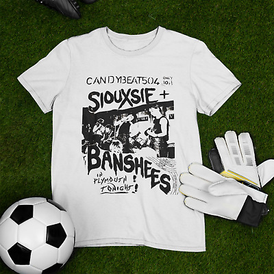Siouxsie And The Banshees Candybeat Blondie White Men T-shirt T375 • 14.12£