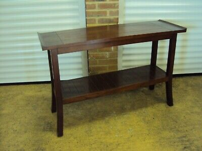 A Wooden Japanese Style Hall/Console Table • 35£