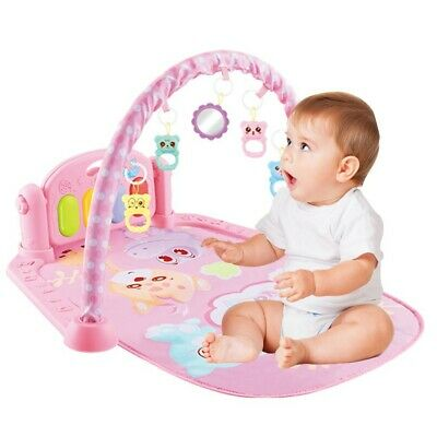 £20.99 • Buy Baby Game Pad Music Pedal Piano Fitness Rack Crawling Mat With Hanging Play Toys